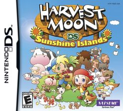 Harvest Moon DS Sunshine Islands box