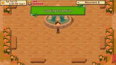How to win cooking contest Harvest Moon Seed of Memories