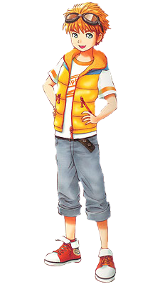 Surprising Rod Anb The Harvest Moon Wiki Fandom Powered By Wikia Hairstyle Inspiration Daily Dogsangcom