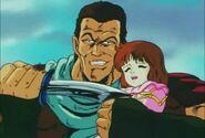 Ren threaten Asuka