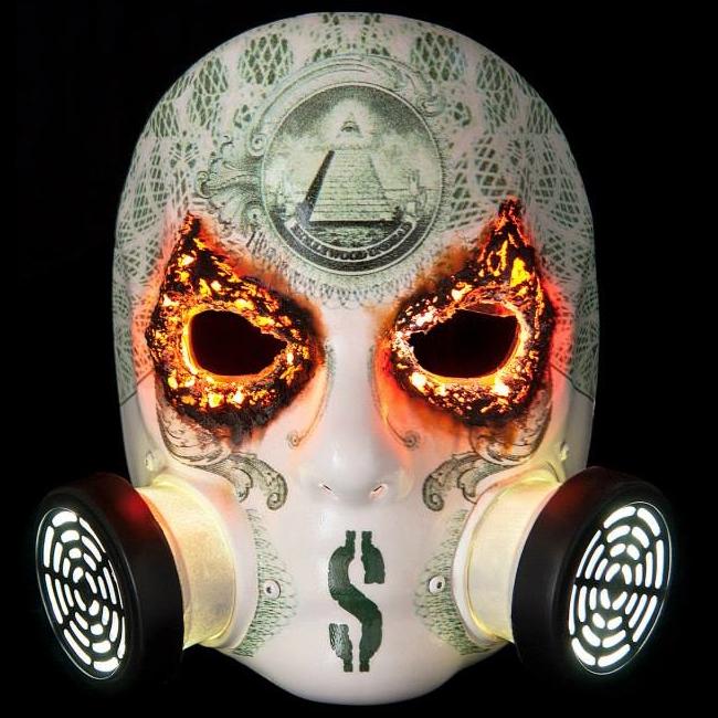 Hollywood Undead J Dog Mask 2013 J-Dog NFTU mask
