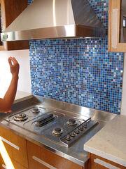 Kinds of blue- splashback tiles