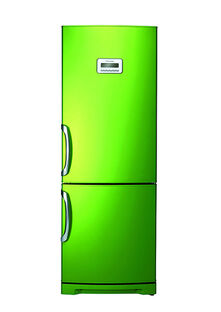 Frosted Green refrigerator