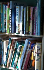 Cookbook Shelf