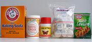 Powder and yeast