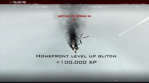 Homefront level up faster glitch V2 (Onlive)