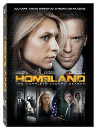 Homeland Season 2 DVD