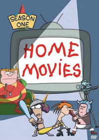 Home Movies s1 dvd cover