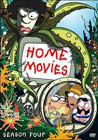 Home Movies Season4 dvd cover