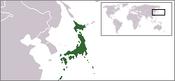 LocationMapJapan