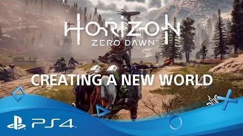 Horizon Zero Dawn Creating a New World PS4