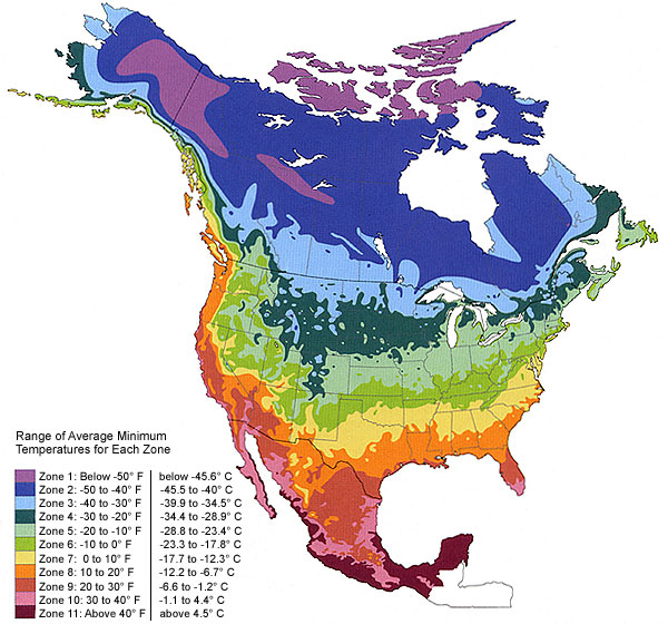 Climate Zone Maps Horticulture and Soil Science Wiki Fandom powered by Wikia