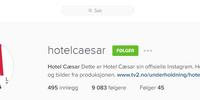 Hotel Cæsar på Instagram