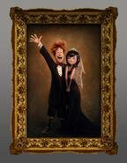 Johnny and Mavis Painting
