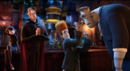 Hotel transylvania on your right arm side