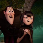 Mavis with Dracula