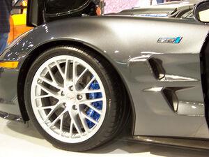 2009 Chevrolet ZR1fenderCorvette ZR1