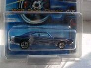 2005 - 69 dodge charger 104 muscle mania dark blue flames 2