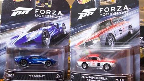 Lamley Showcase Hot Wheels Entertainment - Forza Motorsport...