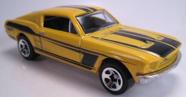 File:'67 Ford mustang 50 years set car.JPG