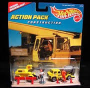 Hot Wheels Construction Action Pack