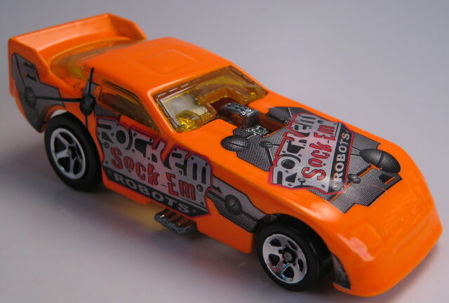 File:Ford probe funny car neon orange timeless toys tru.JPG
