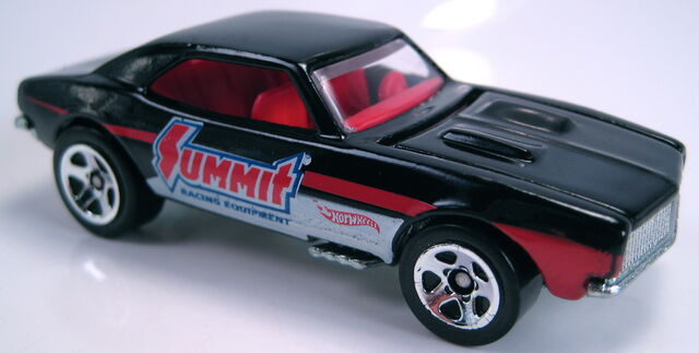 File:'67 Camaro black summit racing HW Performance 2013.JPG