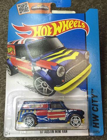 File:Blue 67 Austin Mini Van.jpg