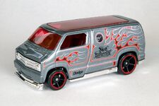Custom '77 Dodge Van - 6461cf