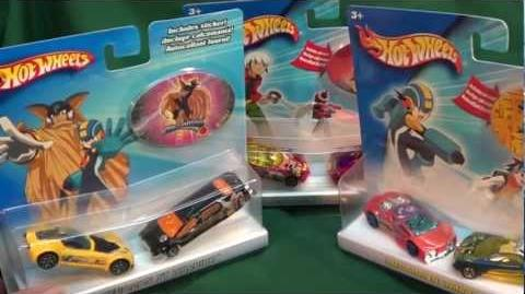 Megaman NT Warrior Entertainment 2-Packs from Hot Wheels