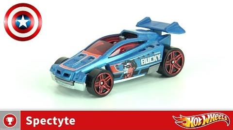 Hot Wheels - Spectyte (Bucky) - Captain America (4K UHD)