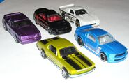 Mustang 45th 5pack loose