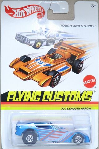File:'77 Plymouth Arrow Funny Car-2013 Flying Customs.jpg