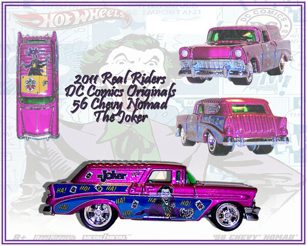 File:2011 HW Real Riders DC Comics Originals 56 Chevy Nomad Joker.jpg