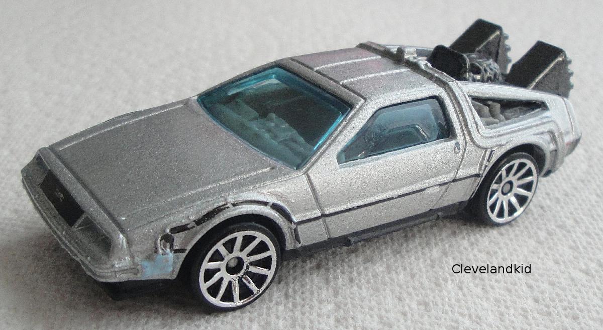 Back To The Future Time Machine Hot Wheels Wiki Fandom
