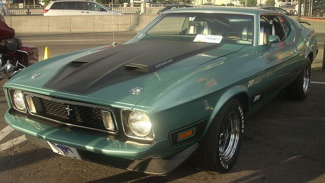 File:800px-'73 Ford Mustang Mach I (Orange Julep '10).jpg