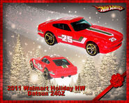 2011 Walmart Holiday HW Datsun 240Z