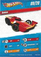 Danicar card, side 1