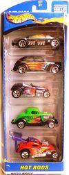 5Pack 2001 HotRods