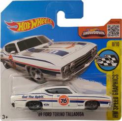 '69 Ford Torino Talladega package front