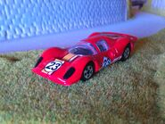 Hot wheels ferrari P4