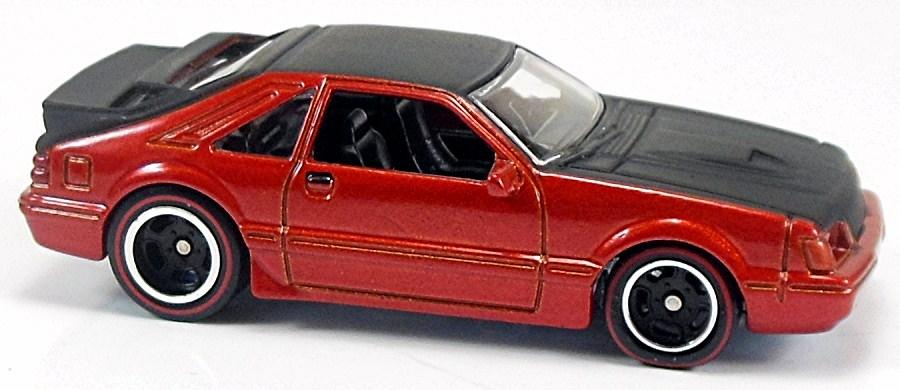 Mustang Svo Wheels X8245 '84 Mustang Svo Red