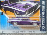 Hot Wheels 2012 120 1973 Ford Falcon XB Super treasure hunt 2