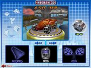 Shadow Jet was Playable in Hot Wheels Mechanix PC 2001 Original Game Colors