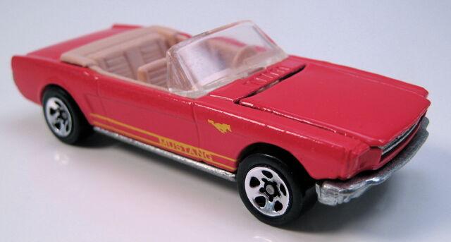 File:65 mustang convertible red 5sp.JPG