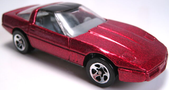 File:80s corvette met red 5sp mal base 1996.JPG
