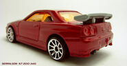 CUSTOM RED NISSAN 3