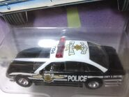 Hot wheels police cruiser detall