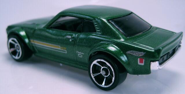 File:70 Toyota Celica green rear view.JPG