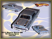 2012 Muscle Mania-GM 66 Chevy Nova